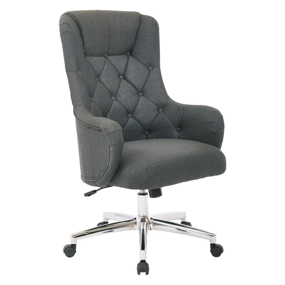 Grey Desk Chair Ariel Azure Desk Chair