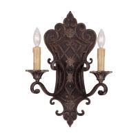 Illumine 2-Light Florencian Bronze Sconce-CLI-SH202849995 ...