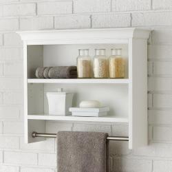 Small Of Wall Bathroom Shelves