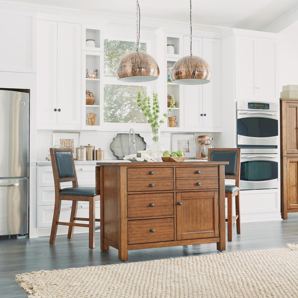 Wooden Kitchen Counter Stools Home Styles Tahoe 24 In Aged Maple Counter Stool 5412 89 The