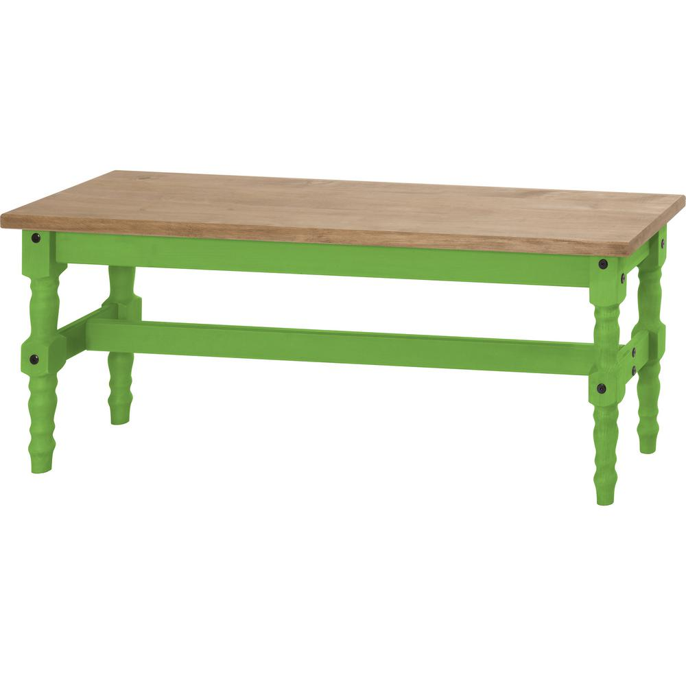 Wooden Bench Table Jay 47 25 In Blue Wash Solid Wood Dining Bench