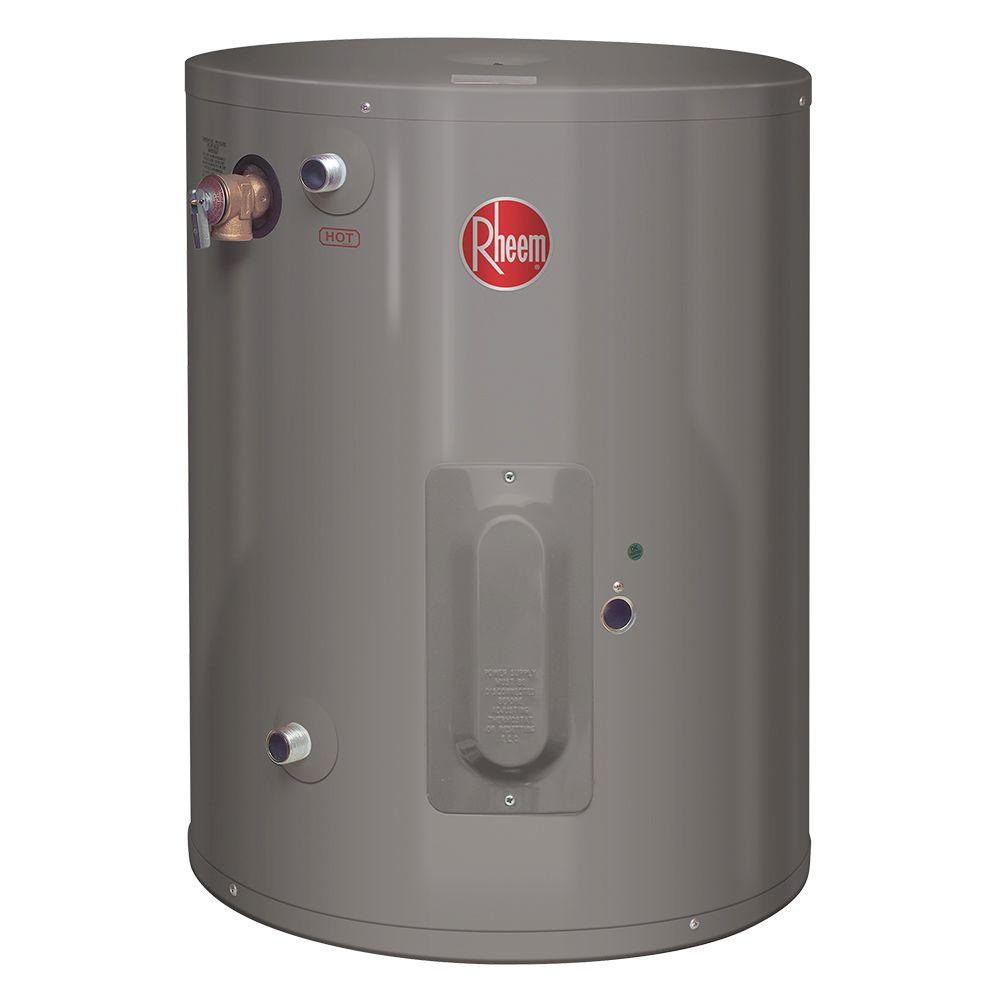 Home Depot Space Heater Rheem Performance 20 Gal 6 Year 2000 Watt Single Element Electric Point Of Use Water Heater