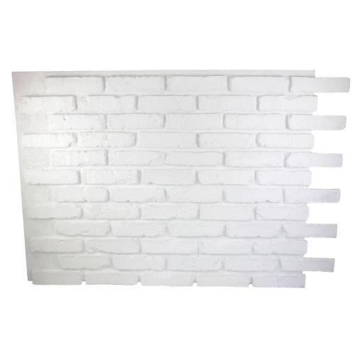 Medium Of White Brick Wall