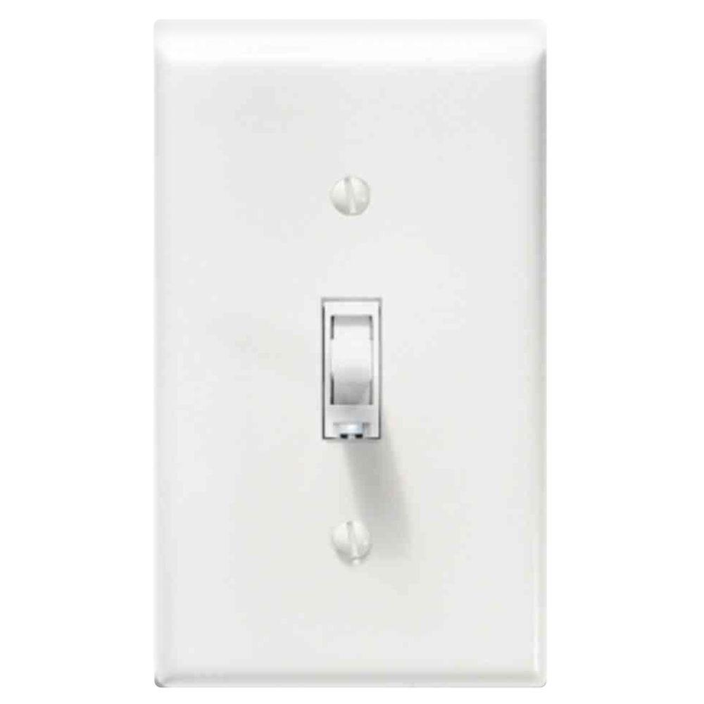 Smart Home Dimmer Smarthome Togglelinc Remote Control 600 Watt Dimmer White Switch