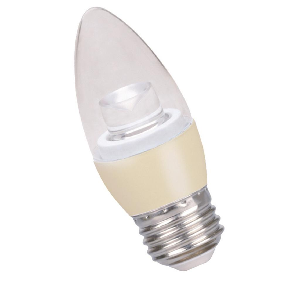 5 Watt Led Halco Lighting Technologies 40 Watt Equivalent 5 Watt B11 Dimmable Led Medium Soft White 3000k Light Bulb 80183