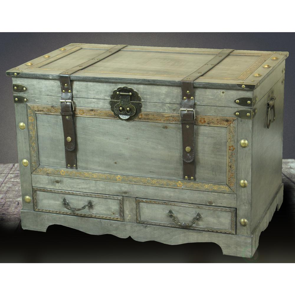 Extraordinary Vintiquewise Rustic Large Wooden Storage Trunk Coffee Table Vintiquewise Rustic Large Wooden Storage Trunk Coffee Table Trunk Coffee Table Sliding Trunk Coffee Table Ideas houzz-02 Trunk Coffee Table