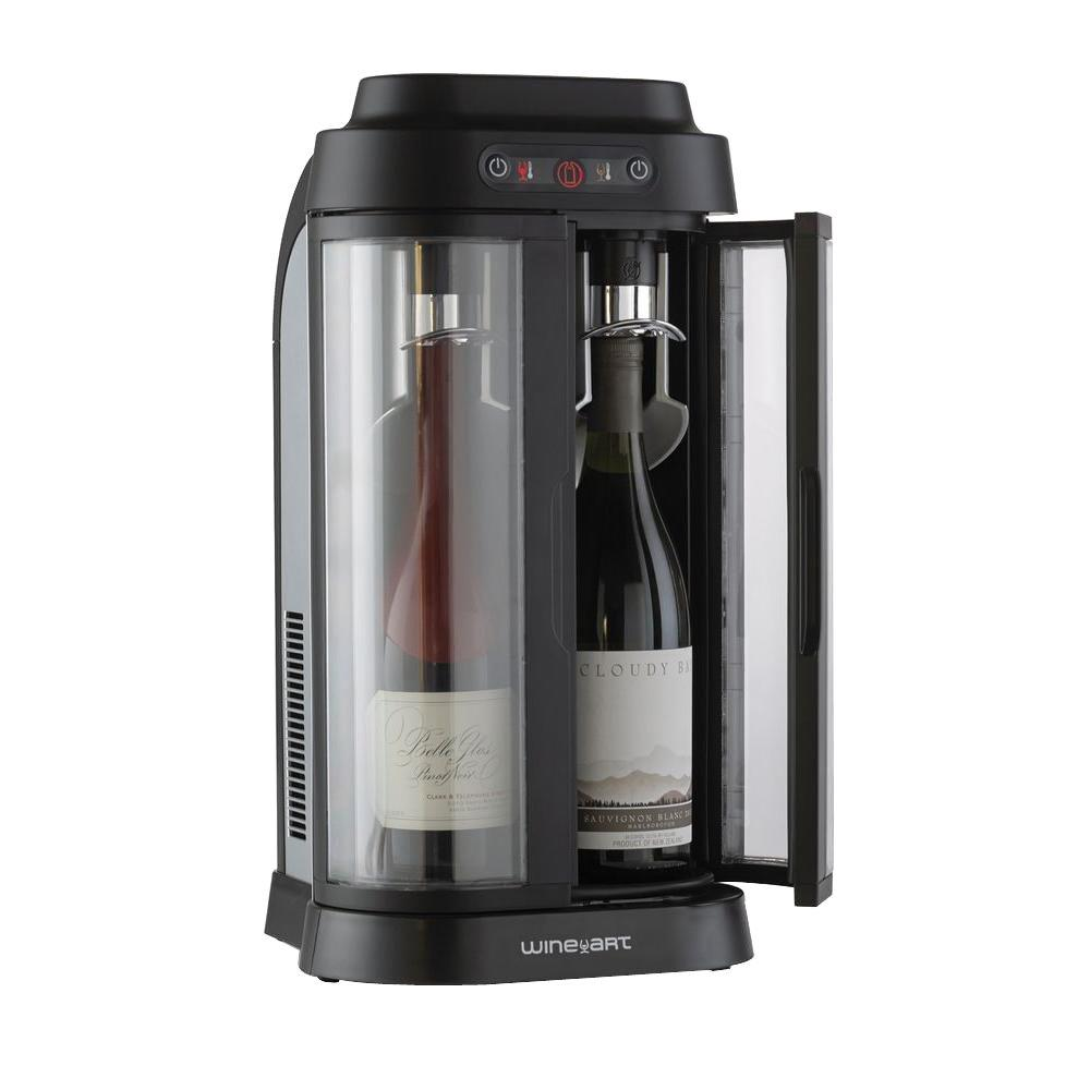 Artevino Llc Wine Enthusiast Eurocave Wine Art 2 Bottle Wine Chiller And Preservation System