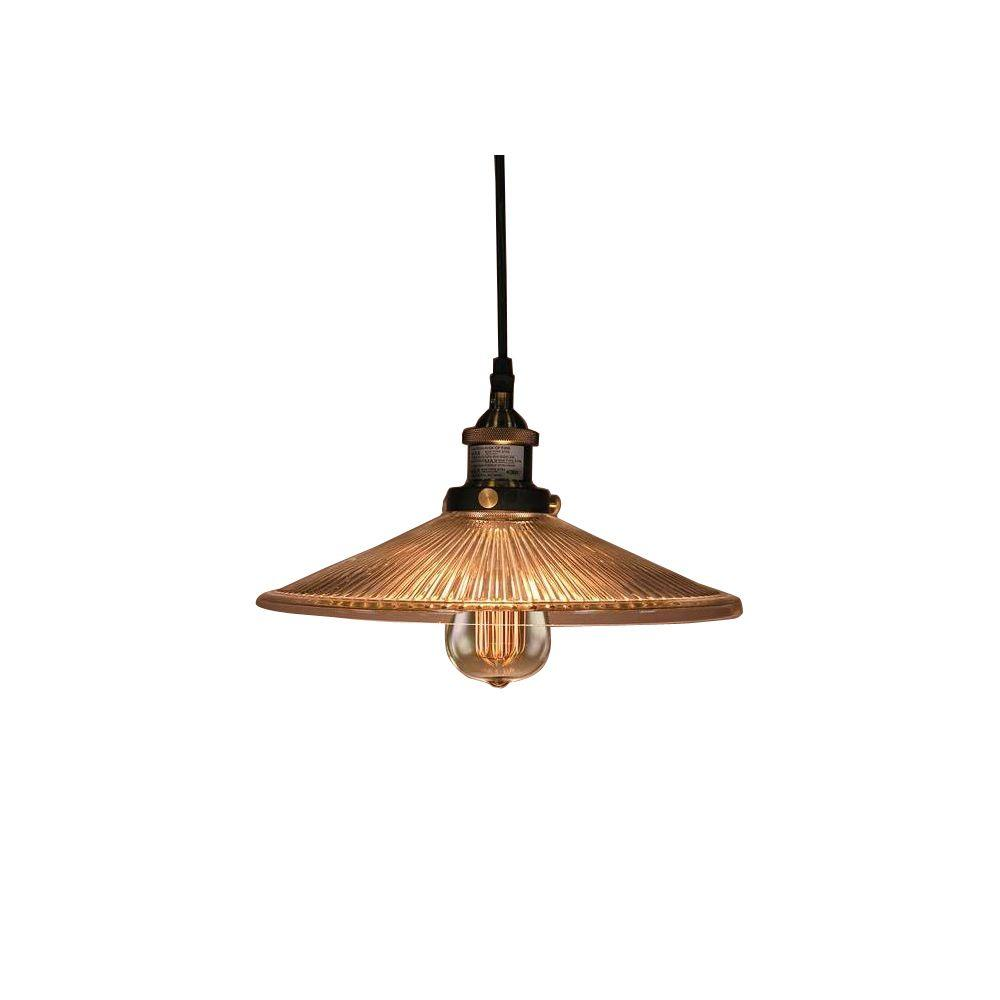 Hanging Lamp Edison Shiloh Collection 1 Light Antique Bronze Indoor Hanging Lamp