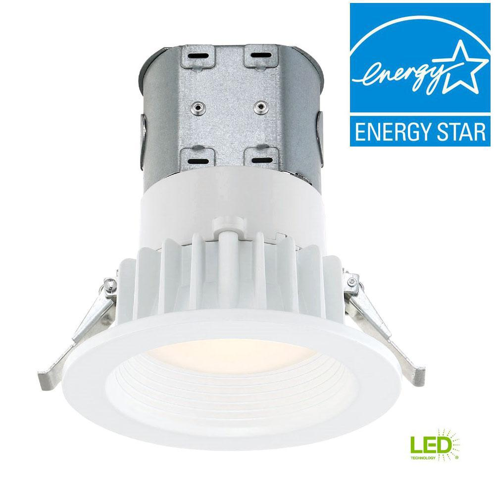 Easy Led Envirolite Easy Up 4 In White Integrated Led Recessed Kit