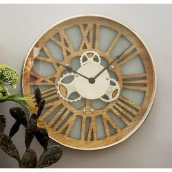 Small Of Gear Wall Clock