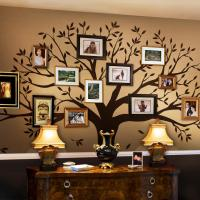 Simple Shapes Family Tree Wall Decal Tree Wall Decal for ...