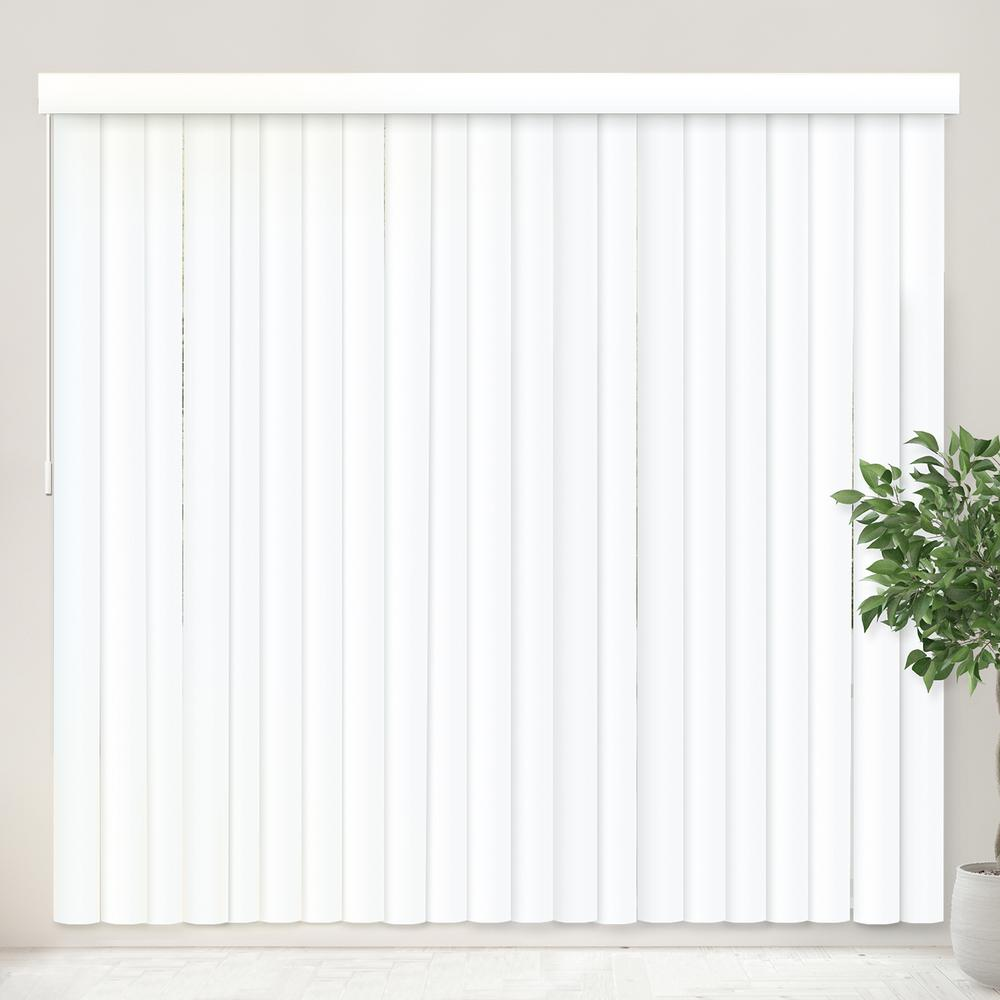 White Timber Blinds Pvc Blinds Window Treatments The Home Depot