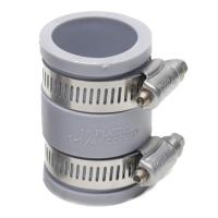 Fernco 1 in. x 1 in. DWV Flexible PVC Coupling-P1056-100 ...
