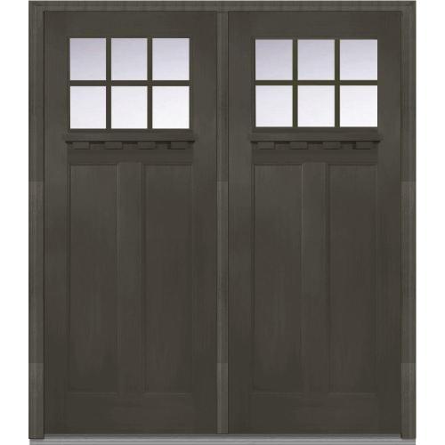 Medium Of Black Front Door