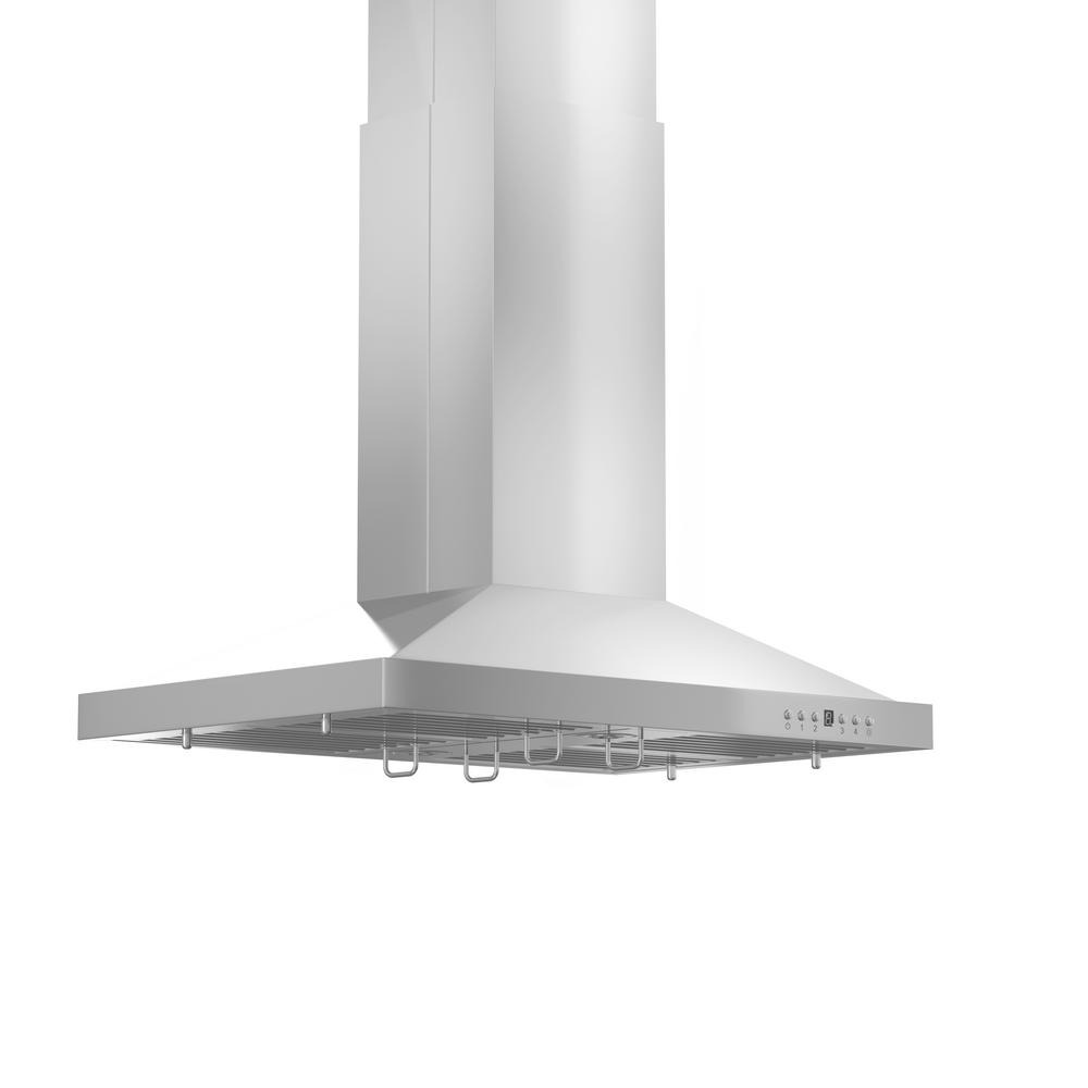 900 Rangehood Zline Kitchen And Bath 30 In 900 Cfm Remote Blower Island Mount Range Hood In Stainless Steel