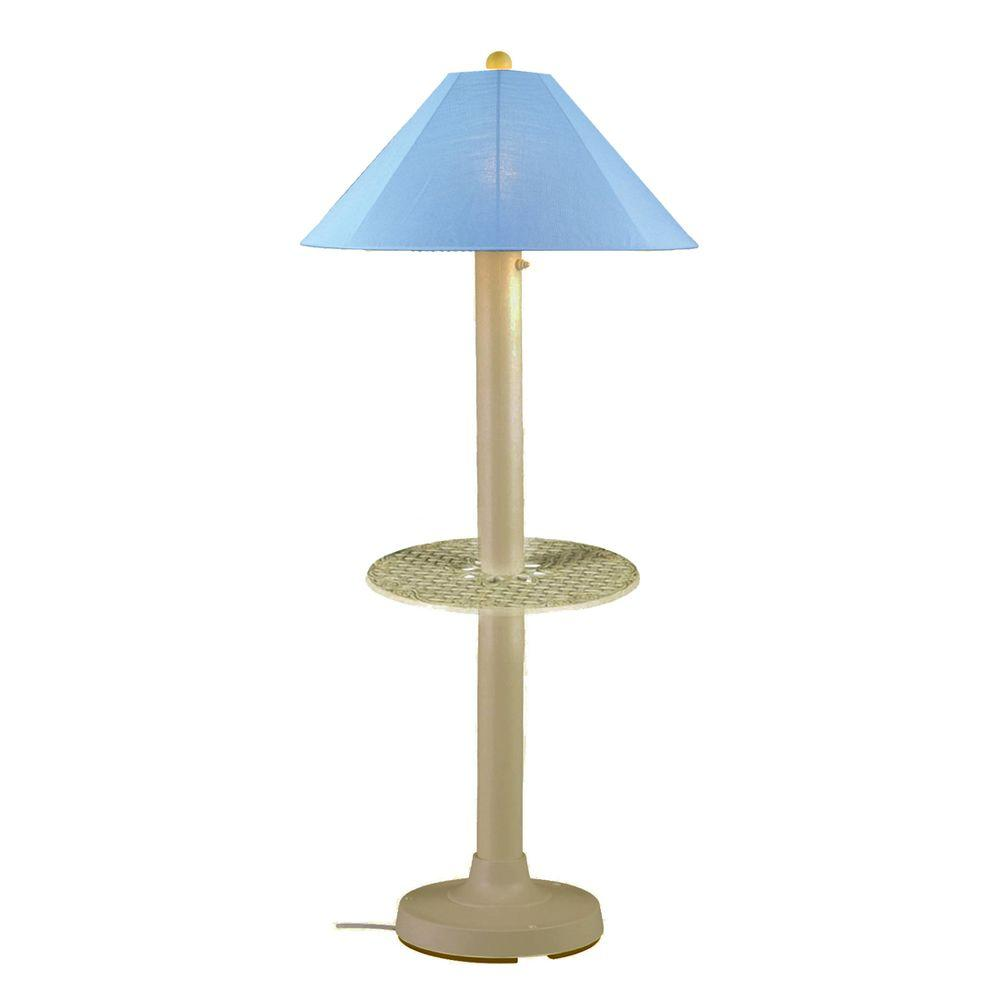Outdoor Stehlampen Patio Living Concepts Catalina 63.5 In. Bisque Outdoor