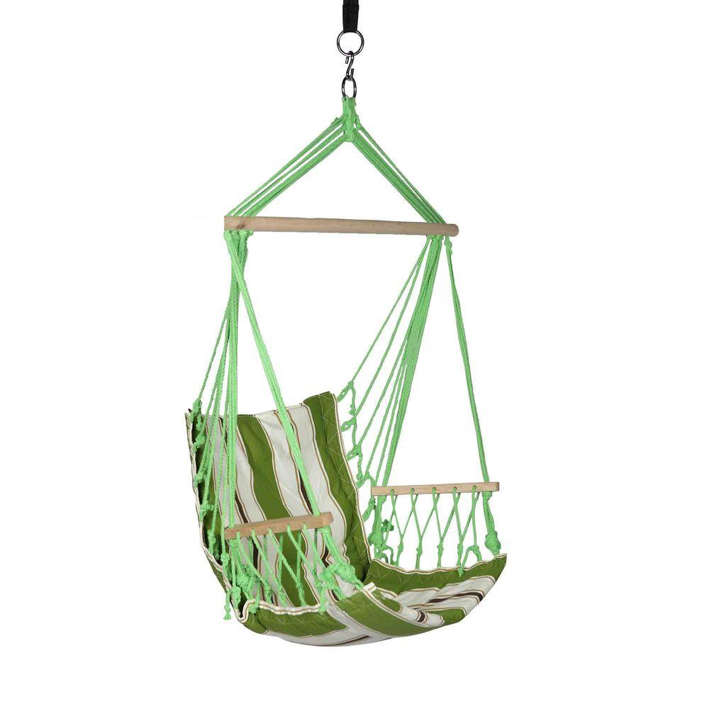 Hanging Outdoor Chairs Blue Sky Outdoor 2 33 Ft Cotton Hammock Hanging Chair With Armrests And Hammock Straps