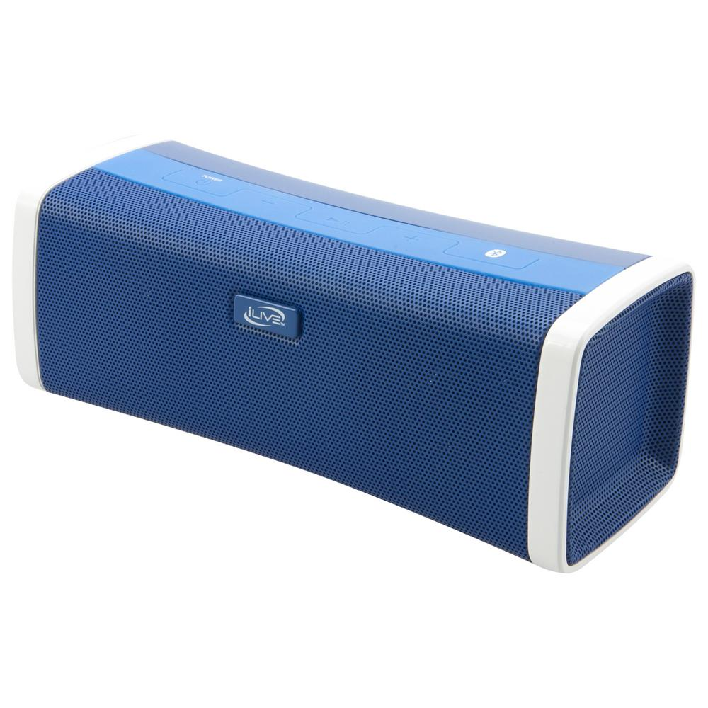 Bluetooth Box Ilive Portable Bluetooth Speaker With Rechargeable Battery Blue