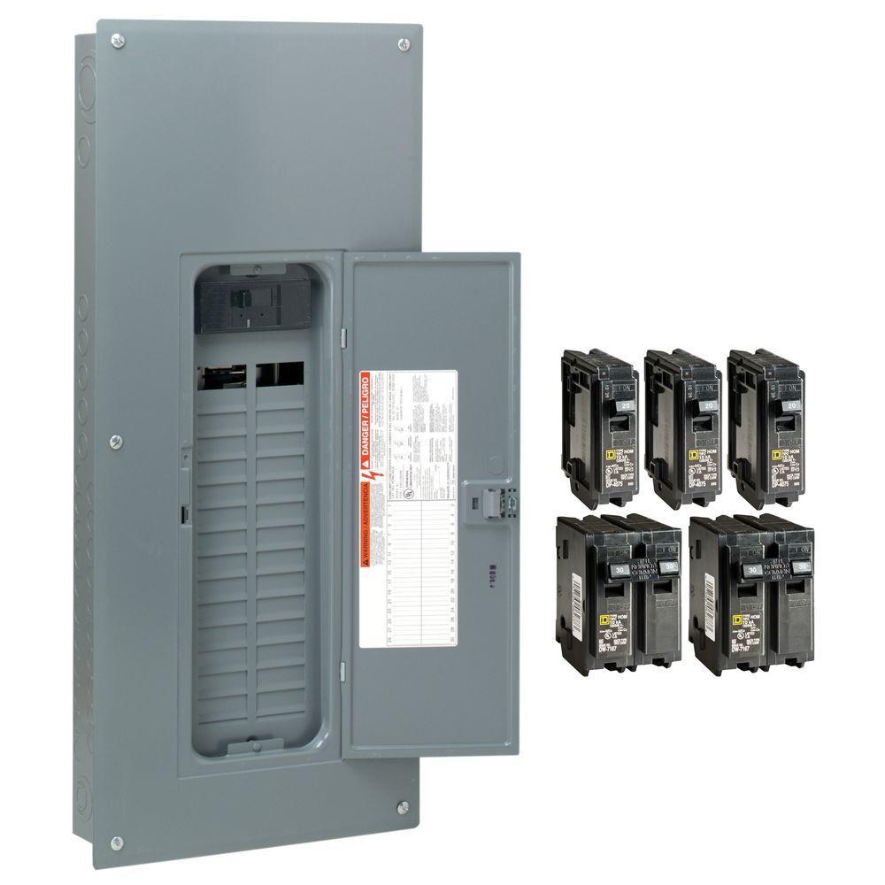 20 amp circuit breaker box fuses