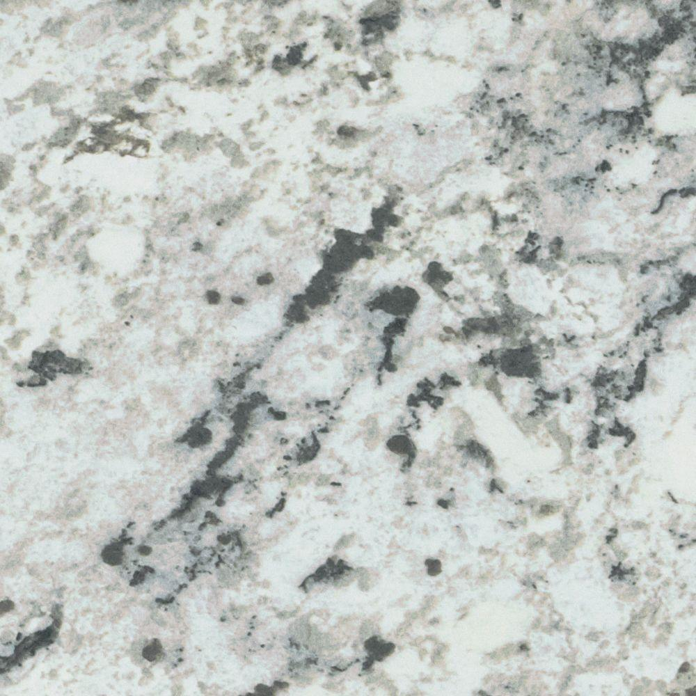 Granite Laminate Countertop Sheets Formica 4 Ft X 8 Ft Laminate Sheet In White Ice Granite With Matte Finish