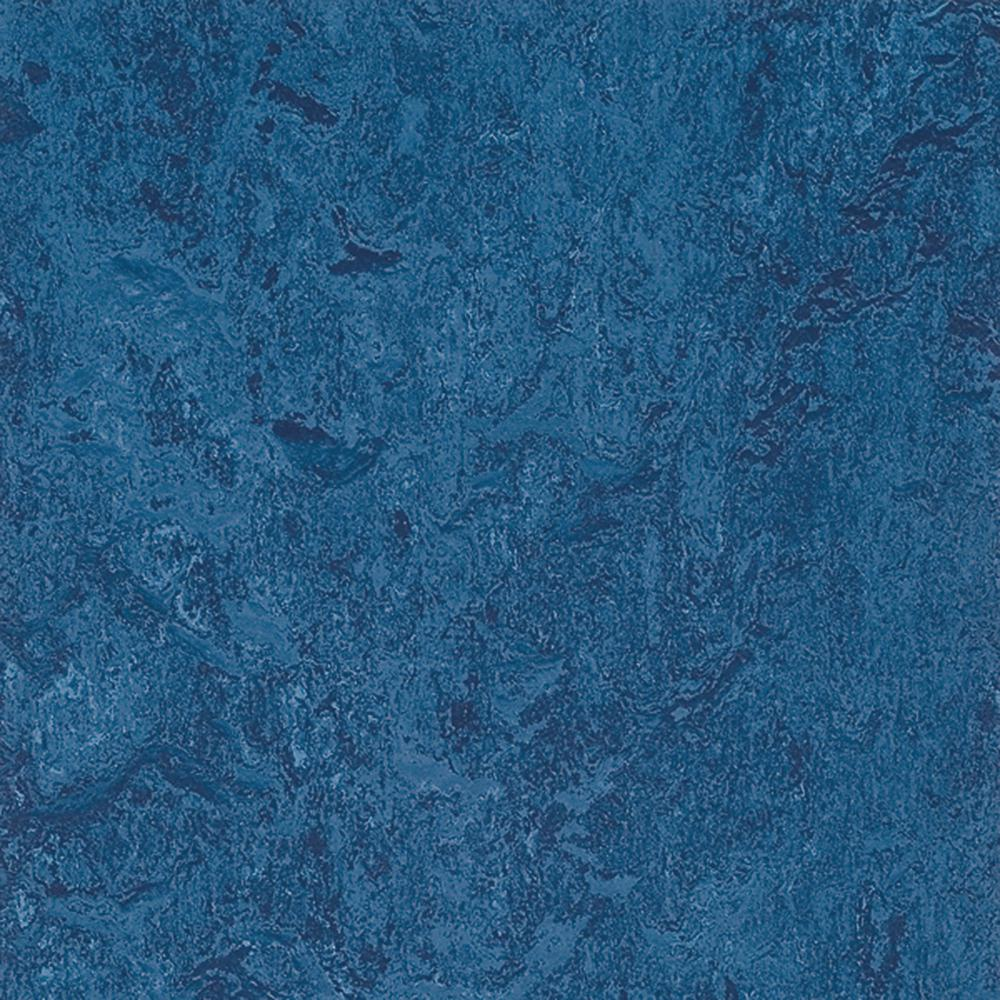 Laminat Blau Marmoleum Blue 9.8 Mm Thick X 11.81 In. Wide X 11.81 In