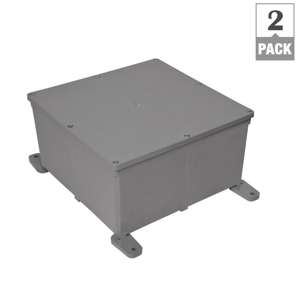 Junction box - Boxes  Brackets - Electrical Boxes, Conduit