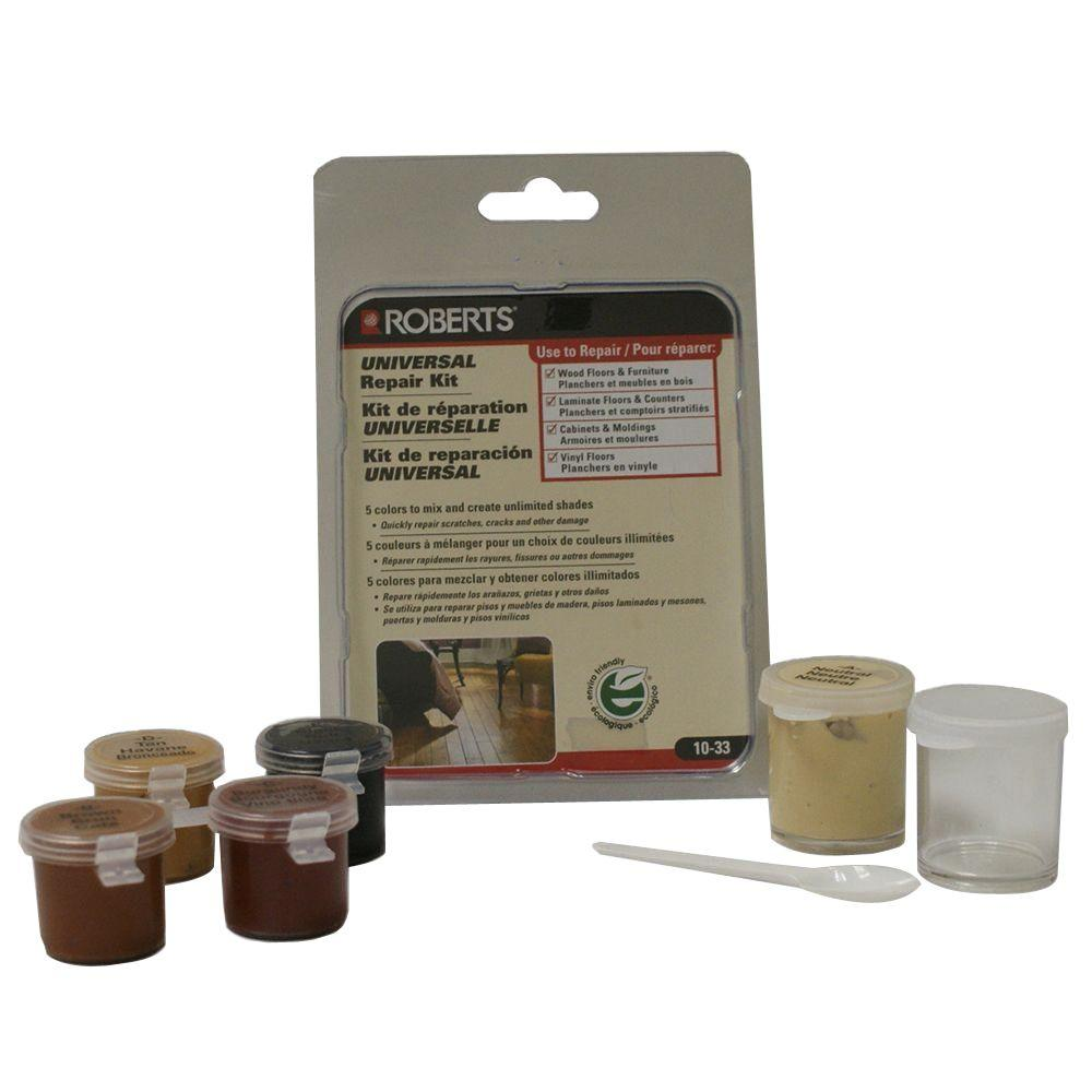 Roberts Universal Flooring Counter Cabinet And Furniture Repair Kit Use With Wood Laminate Or Vinyl 10 33 The Home Depot