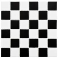 Black And White Mosaic Tiles | Tile Design Ideas