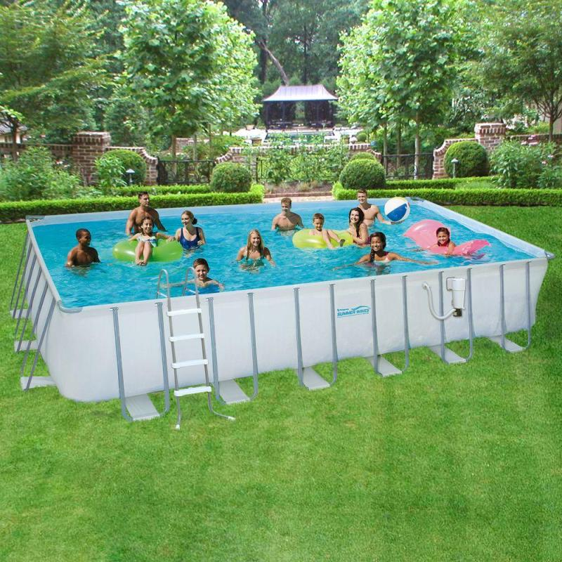 Large Of Rectangle Above Ground Pool