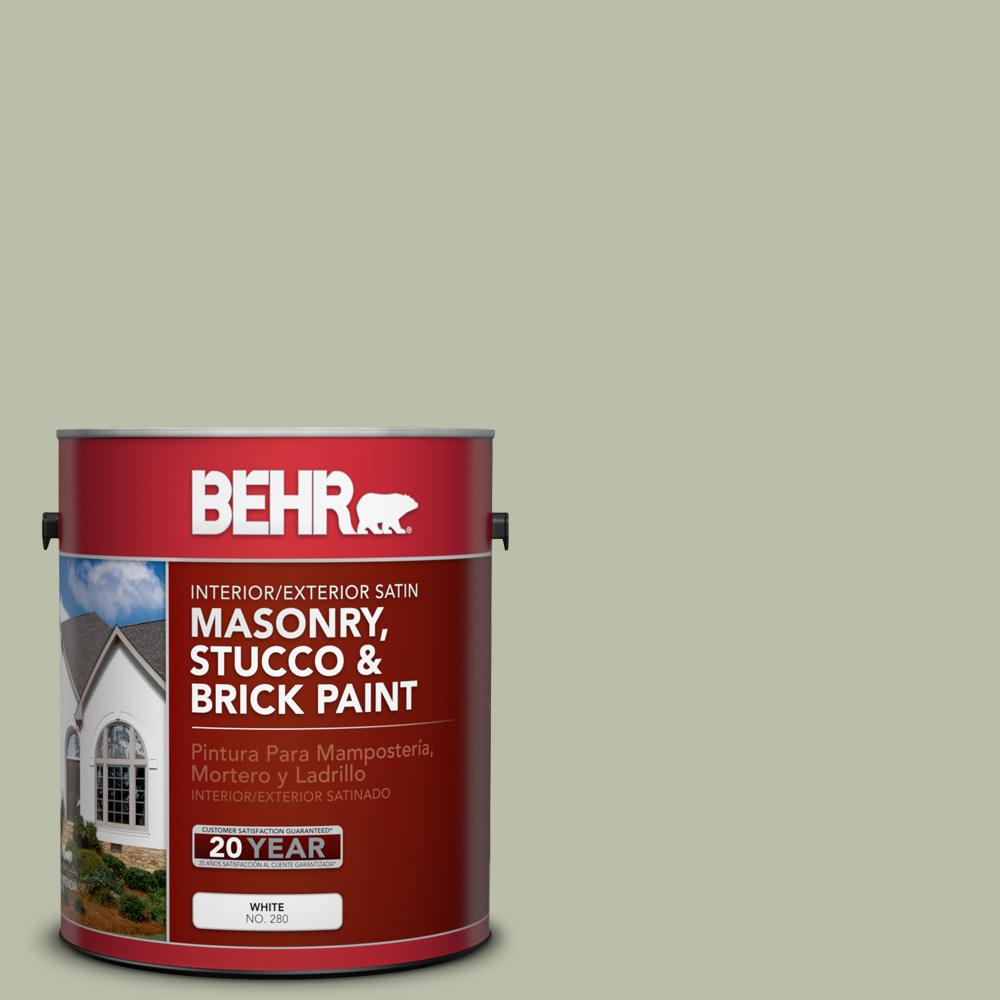 Urban Nature Interieur Behr 1 Gal S380 3 Urban Nature Satin Interior Exterior Masonry Stucco And Brick Paint
