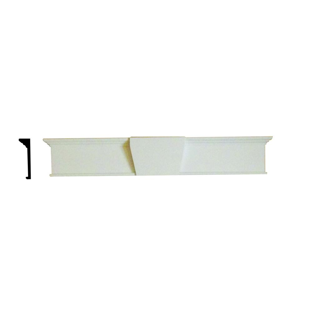 Home Depot Door Casing Minute Molding 2 1 2 In X 6 1 2 In X 45 1 2 In Plastic Decorative Door Casing