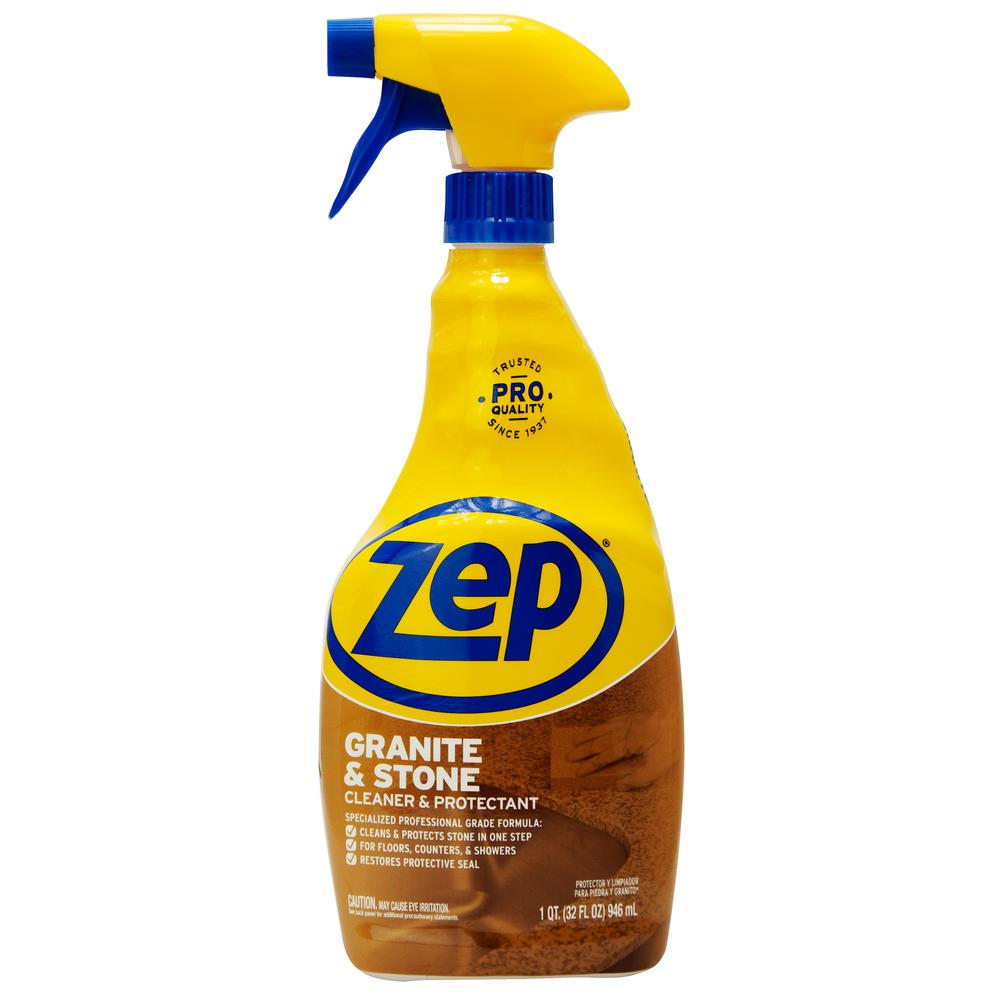 Zep 32 Oz Cleanstone Plus Protectant Ready To Use Sprayer Cleaner Zucspp32 The Home Depot