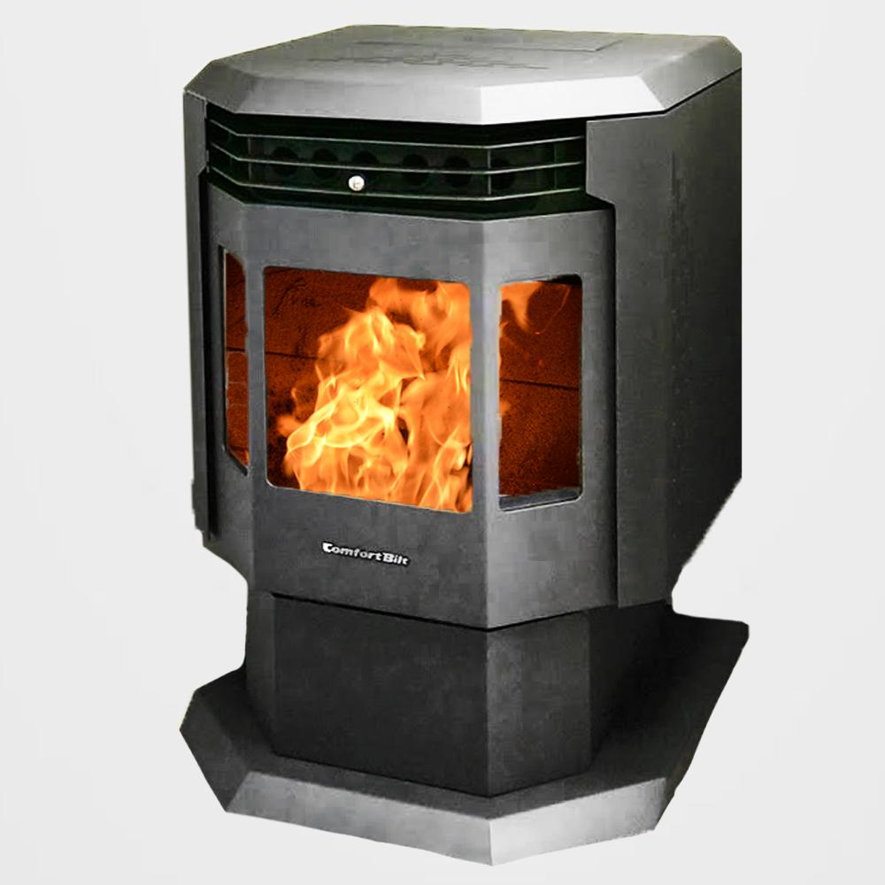 Fireplace Propane Heater 2 400 Sq Ft Epa Certified Pellet Stove With Auto Ignition