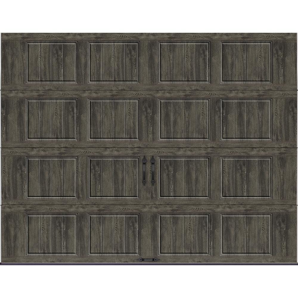 Garage Doors Rochester Ny Clopay Gallery Collection 9 Ft X 7 Ft 6 5 R Value Insulated Solid Ultra Grain Slate Garage Door