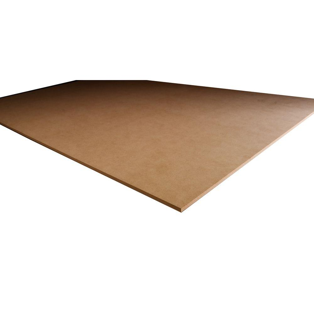 Mdf Panel Mdf Panel Common 3 4 In X 4 Ft X 8 Ft Actual 750 In X 48 In X 96 In