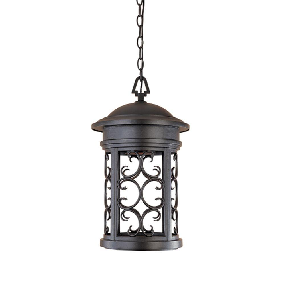 Outdoor Hanging Lamps Designers Fountain Ellington Oil Rubbed Bronze Outdoor Hanging Lamp