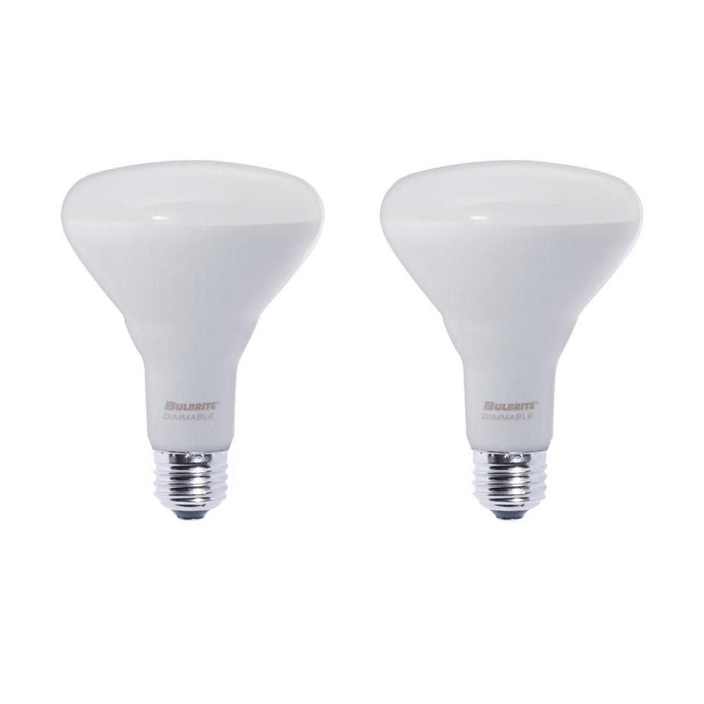 Bulb Led Screw Bulbrite 65w Equivalent Warm White Light Br30 Dimmable Led Very