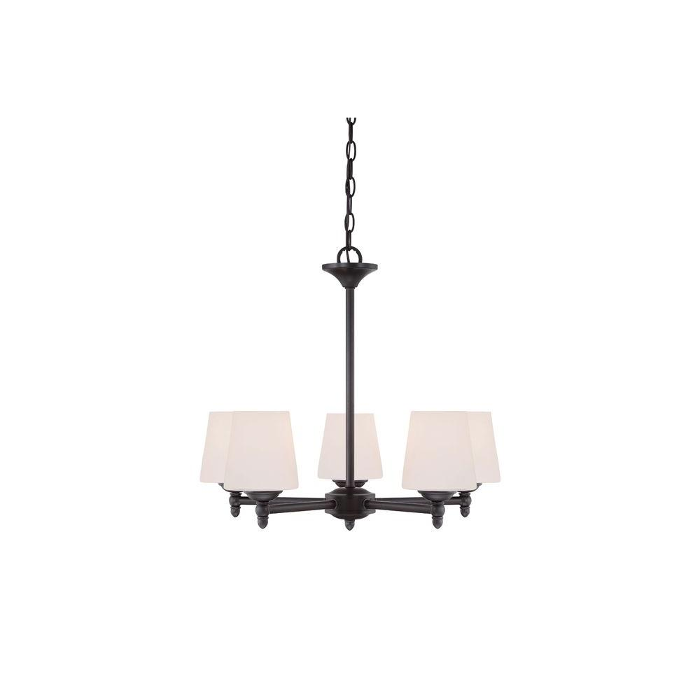 Designers Fountain Lighting Designers Fountain Darcy 5 Light Oil Rubbed Bronze Chandelier