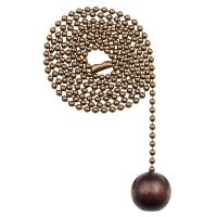 Westinghouse Walnut Wooden Ball Pull Chain-7729000 - The ...