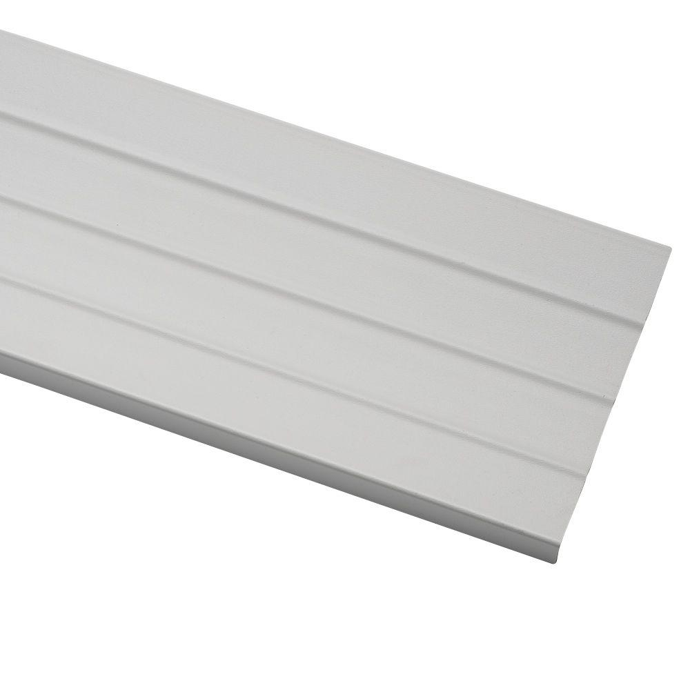 Fascia Board Ply Gem 09 In X 8 In X 12 5 Ft White Vinyl Fascia