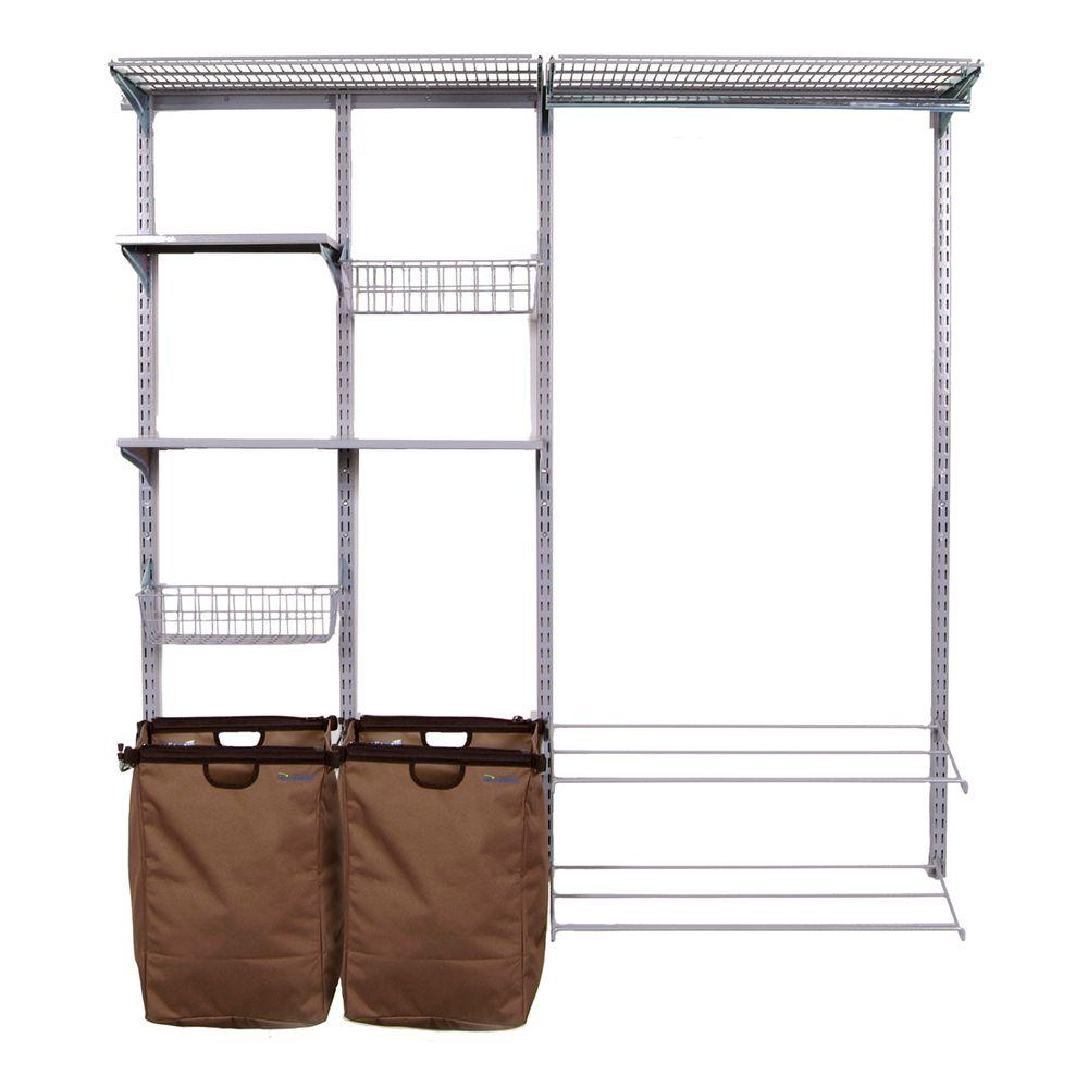 Clothes Storage Triton Products Storability Utility Garment Wall Storage Center