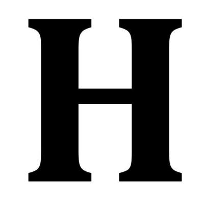 12.5 in. Metal Letter H Wall Plaque-1865614270 - The Home Depot
