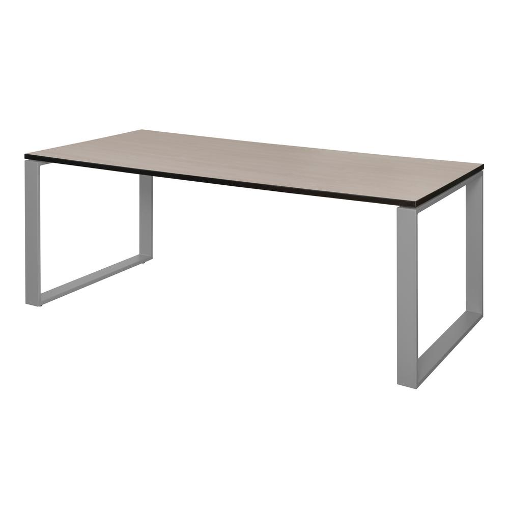 Structure Table Structure 72 In X 36 In Maple Grey Training Table