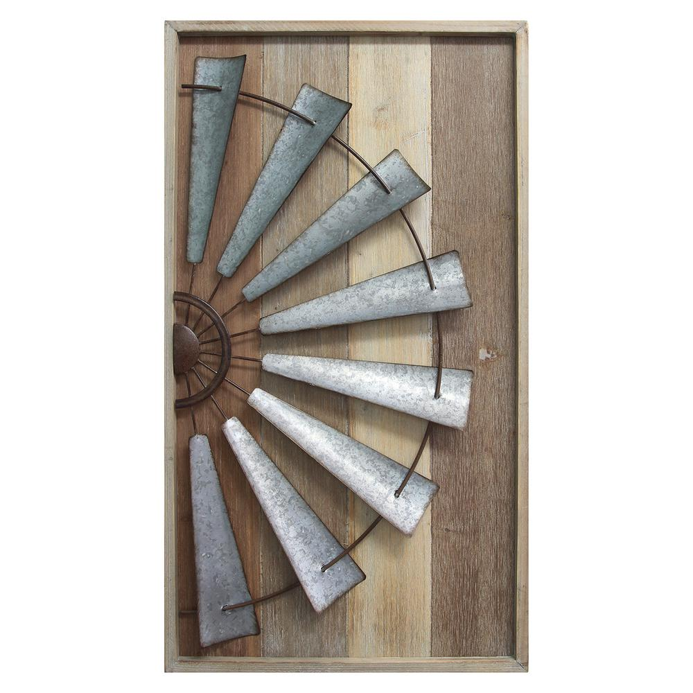 Wall Decor Wooden Stratton Home Decor Windmill Wall Decor S11547 The Home Depot