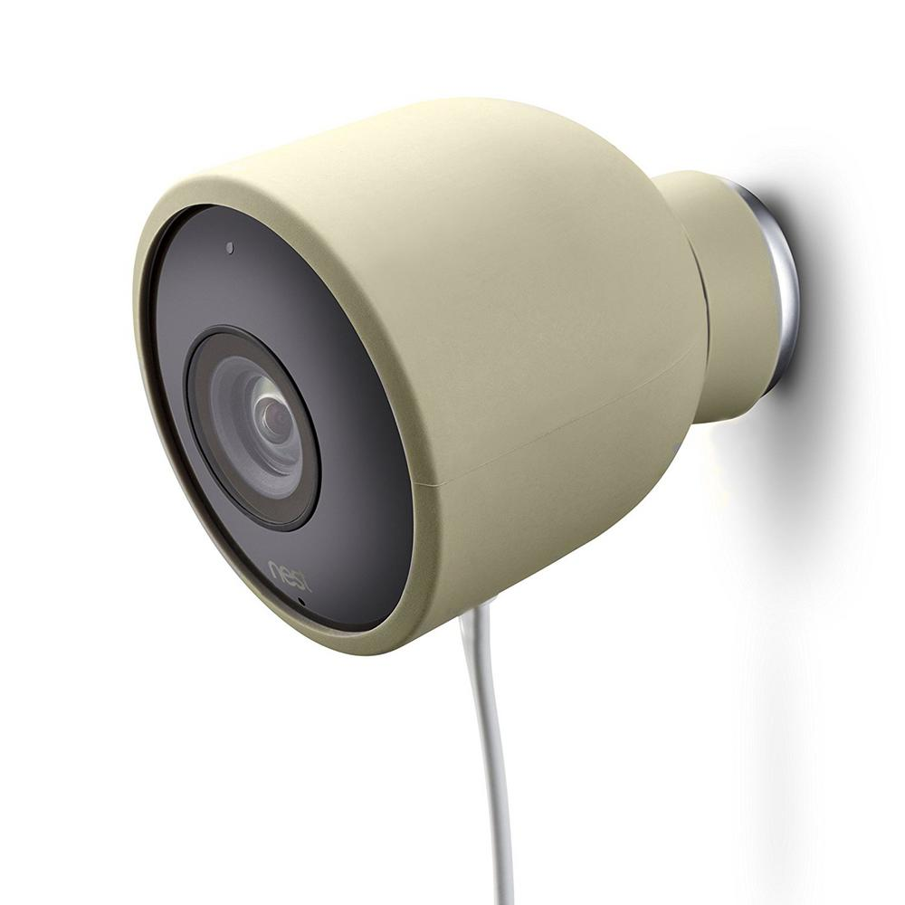 Camera Nest Wasserstein Colorful Silicone Skins For Nest Cam Outdoor Security Camera In Beige