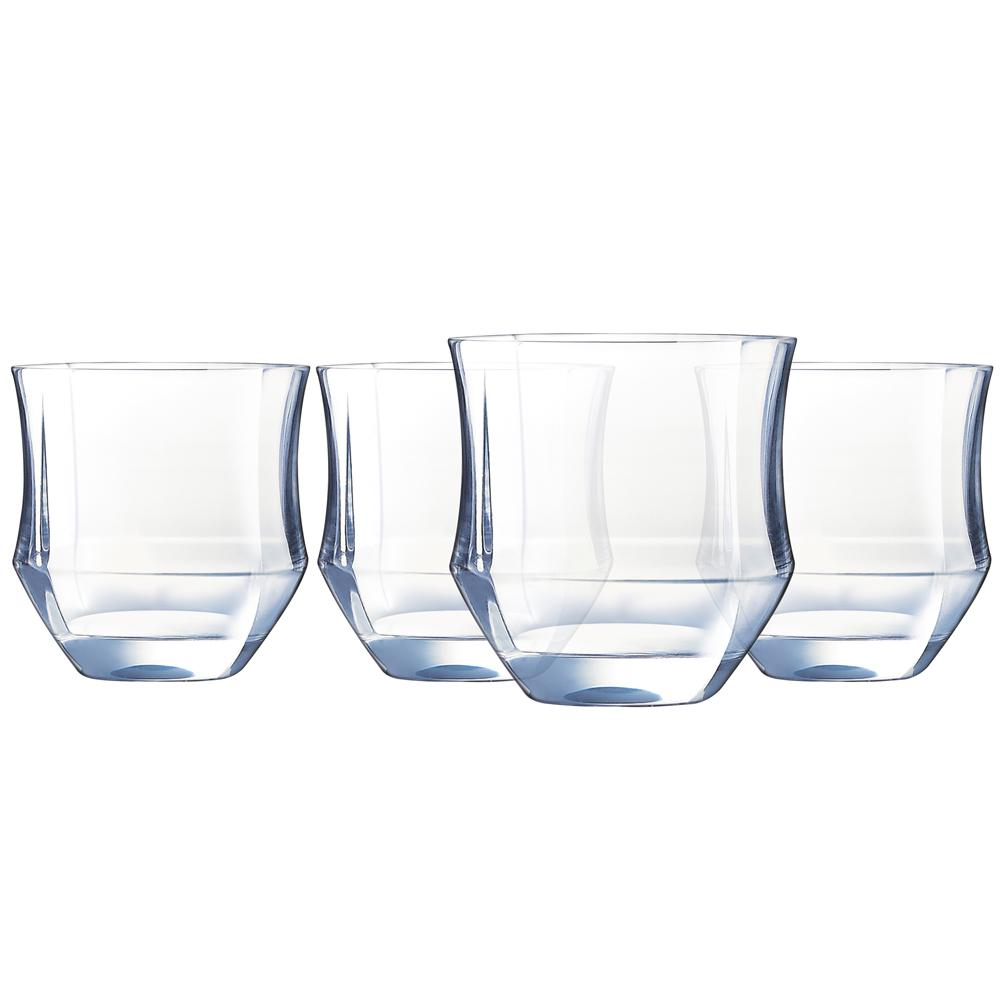Luminarc Glass Luminarc Baroque 11 5 Oz Otr Glass Set Of 4