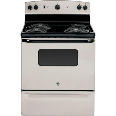 Hotpoint 30 in 50 cu ft Electric Range in Bisque-RB526DHCC - The