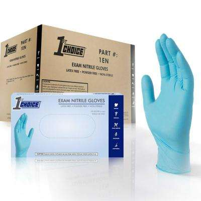Chemical Resistant - Nitrile - Blue - Work Gloves - Workwear - The