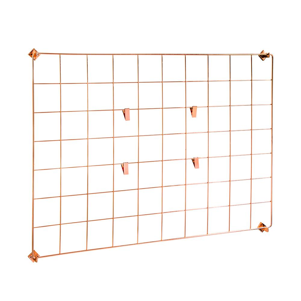 Wall Grid Honey Can Do Copper Wall Grid