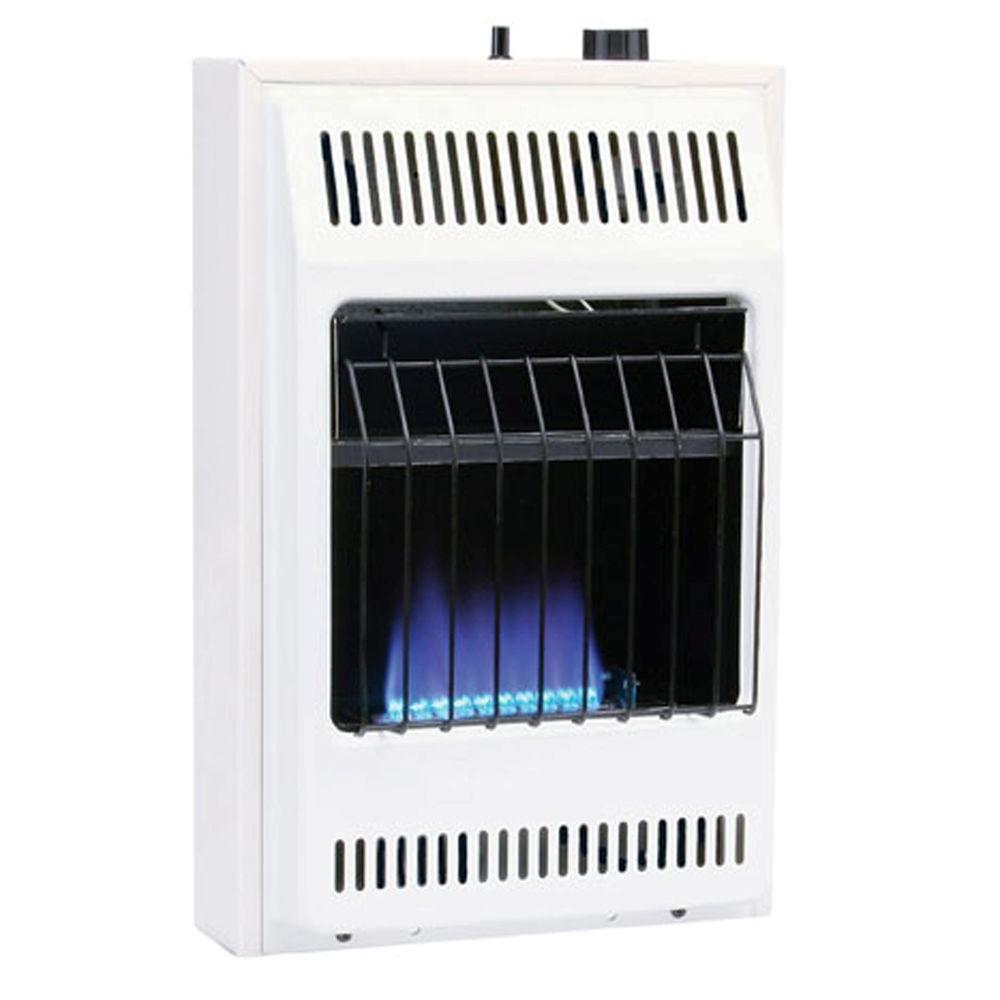 Garage Heater For Dogs Williams 10000 Btu Blue Flame Vent Free Natural Gas Wall Heater With Built In Thermostat